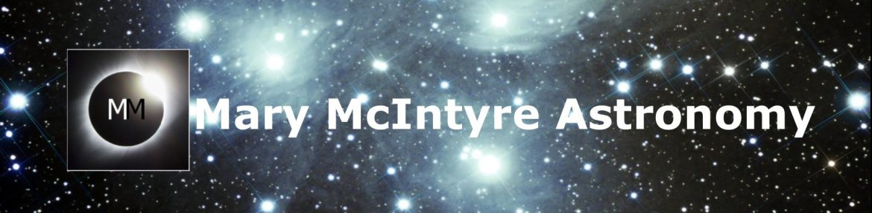 Mary McIntyre Astronomy